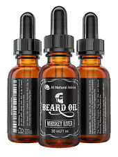 Beard Oil - All-Natural and Organic Leave-In Conditioner - Whisky River