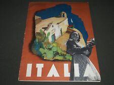 1937 JANUARY ITALIA MAGAZINE ANNO V NUMERO 3 - NICE PHOTOS - ST 5179