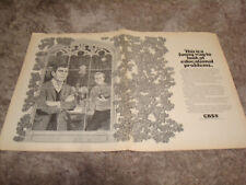 HEADMASTER 1970 CBS ad with Andy Griffith, Jerry Van Dyke with football