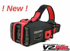 NEW Latest Quanum V2 PRO Goggle Kit & monitor ideal for FPV UK Post