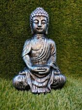 Buddha's Reconstituted Stone Garden Ornaments. Various Colours - Free UK P&P