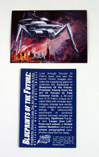 "1994 COMIC IMAGES ""BLUEPRINTS of the FUTURE"" PROMO CARD in AS NEW [COND]"