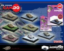 DRAGON CAN.DO 20019 - JAGDPANTHER Sd.Kfz.173 - FULL SET OF 7 TANKS - 1:144 - MOC