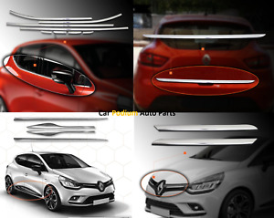 Renault Clio IV Cubierta Cromo Espejado 2 un S Acero 2012 2017