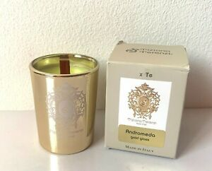 Tiziana Terenzi Andromeda 40g Perfumed Mini Candle in 24K Gold Decorated Glass