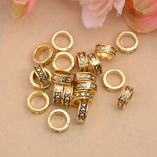 50/100Pcs Retro Style Tibetan Silver Tube Charm Spacer Beads 7.5MM DH81