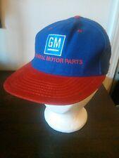 Vintage Embroidered GM General Motor Parts Mideast Region Flat Bill Trucker Hat