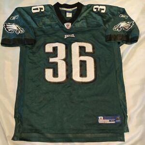 Reebok Philadelphia Eagles Brian Westbrook Football Jersey Green Size XL XLarge