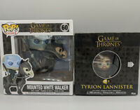 2 Lot Game Of Thrones Funko Pop 5 Star Mounted White Walker #60 Tyrion Lannister