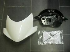 GENUINE TRIUMPH STREET TRIPLE / R 675 FLYSCREEN KIT in CRYSTAL WHITE A9708269-NW