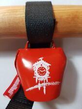 """Swisstrailbell Fahrradklingel Trailbell BlackForest Edition RED: """"Just Escape"""""""