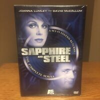 Sapphire and Steel - The Complete Series (DVD, 2004, 6-Disc Set) McCallum Lumley