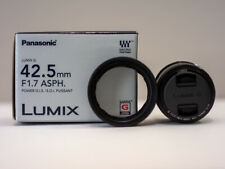 Panasonic Lumix G 42.5mm f/1.7 II Aspherical AF G Lens