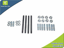 New Kubota V1702 Cylinder Head STUD & NUT KIT