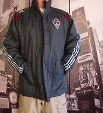 OFFICIAL Adidas Stadium Jacket COLORADO RAPIDS MLS Jacket coat SIZE MEN'S M