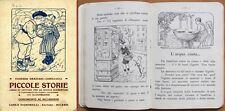 SILLABARI e SCOLASTICI_Graziani-Camillucci_Piccole Storie - Signorelli, 1920*>>>