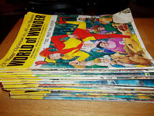 WORLD OF WONDER MAGAZINES (1971/2) - ISSUES 88 - 145 (55 MAGAZINES IN TOTAL)