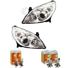Headlight Set Opel Vectra C 09.05- > H7/H1 with Motor Incl. Lamps 1380321