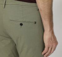 Dondup Pantalone Uomo Mod. UP235 GAUBERT Col Militare. LISTINO 200,00