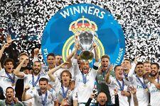 Poster A2 Real Madrid Ramos Modric Bale Marcelo Champions 2018 Decimotercera 03