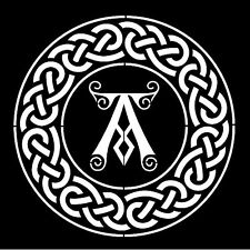 Alto detalle aerógrafo de plantilla ardberg Whisky Logo GRATIS UK FRANQUEO
