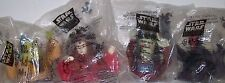 1999 STAR WARS EPISODE I THE PHANTOM MENACE CUP TOPPER COLLECTABLES - LOT OF 4