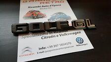 VW GOLF 1 MK1 GL CABRIO CONVERTIBLE SCRITTA LOGO EMBLEMA EMBLEM GENUINE