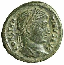 """Constantine I The Great AE20 """"VOT XX & Star in Wreath"""" Heraclea RIC 60 VF"""