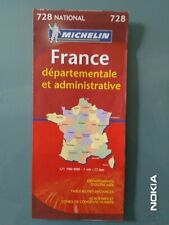 CARTE MAP MICHELIN N°728 - FRANCE DEPARTEMENTALE & ADMINISTRATIVE - NEUVE