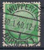 31742) WUPPERTAL-BARMEN 1 Rheinland LUXUS Stempel 1940 auf Mi.-Nr. 515