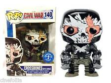 Captain America Civil War Crossbones Battle Damage Pop! Funko Vinyl figure 140