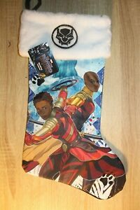 NEW Marvel Black Panther Christmas Stocking in Black