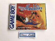 Notice - Disney's Aladdin - Nintendo Game Boy - PAL EUR