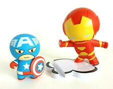 Marvel Disney Store MXYZ Iron Man Phone Stand & Captain America Power Bank Set