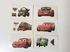 12 Disney Cars Temporary Tattoos Boys Party Loot Bag Stocking Fillers