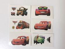 12 Disney Cars tatuajes temporales Chicos Fiesta Loot Bolsa Stocking Relleno