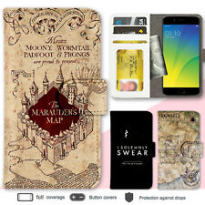 OPPO R11 R9S Plus A57 A77 Case Harry Potter Print Wallet Leather Flip Cover Case