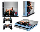 Sexy Girl car Skin cover for PS4 PlayStation4 + 2 gamepad skins Sticker Decal 97