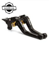 Paire De Levier Yamaha TMAX 530 2012-2020 NOIR OR