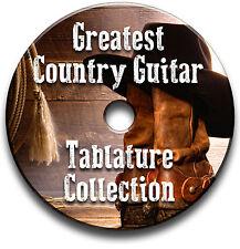 GREATEST COUNTRY CHITARRA INTAVOLATURE COLLEZIONE CANTO BOOK CD SOFTWARE