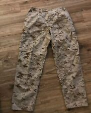 Woolrich Military Insect Repellent Desert Camo Mens Trousers 31-35 X32 BDU EUC