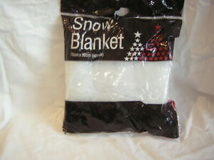 SNOW BLANKET 70 CM X 50 CM APPROX BRAND NEW FACTORY SEALED