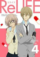 ReLIFE Vol.4 Blu-ray Limited Edition Drama-CD Booklet Anime w/Tracking