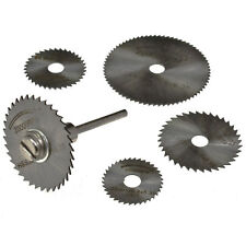 6Pc Mini HSS Circular Saw Disc Blades Set
