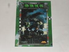 livre warhammer 40,000( codex orks) (version française)
