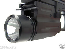 210 Lumen CREE LED Flashlight Lights for/Weaver/Picatinny Rail 20mm QD Mount J11