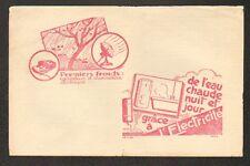 """LE VIGEN (87) Quittance """"GAZ & ELECTRICITE DU LIMOUSIN"""" en 1935"""
