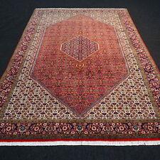 Orient Teppich Rot 293 x 200 cm Beige Perserteppich Herati Muster Handgeknüpft