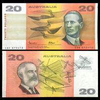 2010 UNC P-59 Australia 20 Dollars