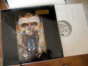 Laser Disc Michael Jackson MTV Music LD Video 112min Behind the scene Laserdisc